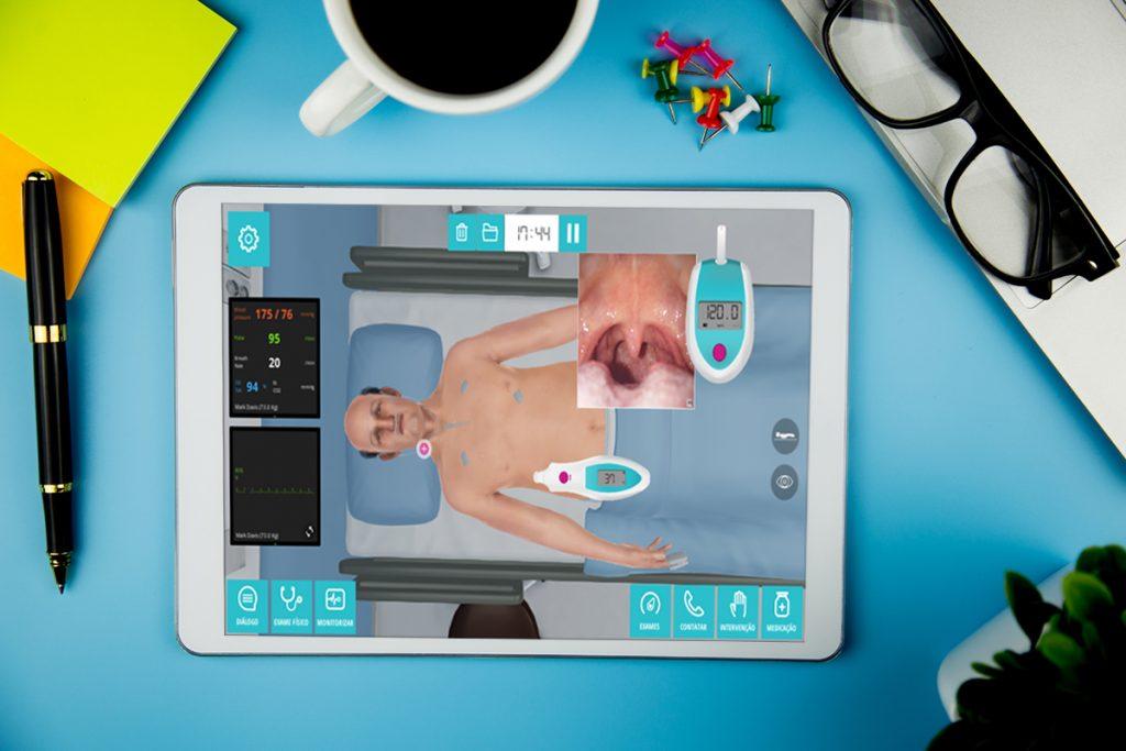 paciente virtual Body Interact