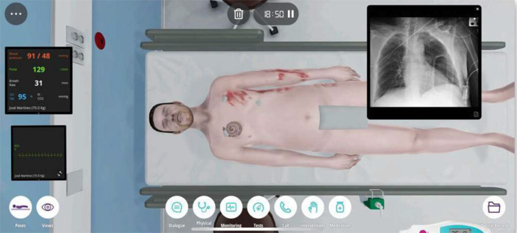 paciente virtual para cirurgia
